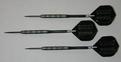 POWERGLIDE 23 gram Steel Tip Darts - 80% Tungsten, Ringed Grip -Style 7