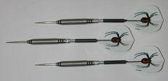 MACH III 21 gram Steel Tip Darts - 80% Tungsten, Knurled Grip