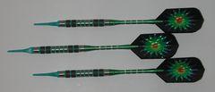 DYNAMITE 18 gram Soft Tip Darts - Contoured Grip 80% Tungsten - Convertible - Steel/Soft Tip Darts DY3