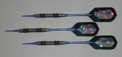 DYNAMITE 18 gram Soft Tip Darts - Contoured Grip 80% Tungsten - Convertible - Steel/Soft Tip Darts DY2