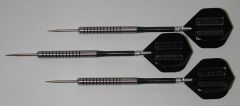 POWERGLIDE 16 gram Steel Tip Darts - 80% Tungsten, Ringed Grip -Style 11