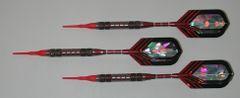 DYNAMITE 16 gram Soft Tip Darts - Contoured Grip 80% Tungsten - Convertible - Steel/Soft Tip Darts DY6