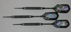 PREDATOR 20 gram Soft Tip Darts - Knurled 80% Tungsten - Convertible - Steel/Soft Tip Darts RD1-20