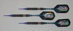 DYNAMITE 16 gram Soft Tip Darts - Scalloped Grip 80% Tungsten - Convertible - Steel/Soft Tip Darts DY9