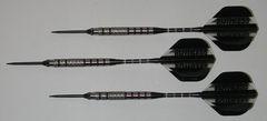 Predator 18 gram Steel Tip Darts - 90% Tungsten, Aggressive Grip - Style 1