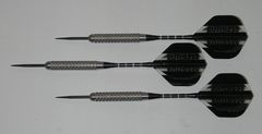 XTREME 28 gram Steel Tip Darts - 80% Tungsten, Aggressive Grip - Silver Series