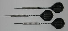 Predator 26 gram Steel Tip Darts - 85% Tungsten, Aggressive Ridged Grip - Style R1