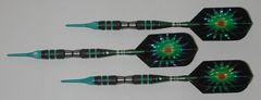 DYNAMITE 16 gram Soft Tip Darts - Scalloped Grip 80% Tungsten - Convertible - Steel/Soft Tip Darts DY10