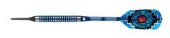 Harrows 18 gram 80% AZTEC Tungsten Soft Tip Darts - Ringed Grip - AZTEC-18-R2