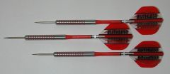 POWERGLIDE 18 gram Steel Tip Darts - 80% Tungsten, Ringed Grip -Style 3