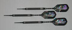PREDATOR 16 gram Soft Tip Darts - Tight Ringed 90% Tungsten - Convertible - Steel/Soft Tip Darts