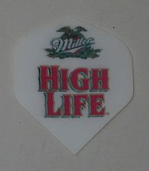 2 Set (6 flights) Miller High Life Hard Poly Standard Dart Flights