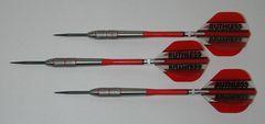 POWERGLIDE 22 gram Steel Tip Darts - 80% Tungsten, Front Knurled Grip -Style 6