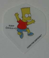 2 Set (6 flights) Simpsons Bart Homer Duff Standard Dart Flights - Simp02