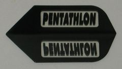 3 Sets (9 flights) BLACK Standard PENTATHLON Flights - 2002