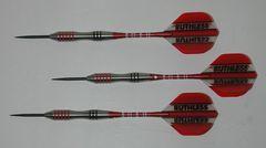 EVO 28 gram Steel Tip Darts - 80% Tungsten, Contoured Grip