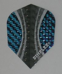 3 Sets (9 flights) Dimplex Standard BLUE TRIBAL Flights - 4033