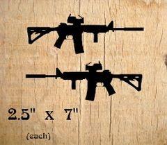 AR 15 Decals