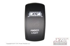 Amber Light Bar Rocker/Actuator, Contura V, Rocker Only