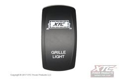 Grille Light Bar Rocker/Actuator, Contura V, Rocker Only