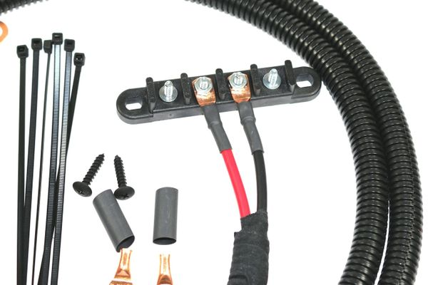 universal power cable with circuit breaker and 4 post