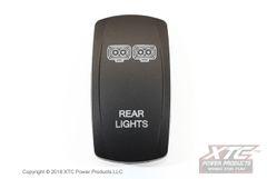 Rear Lights Rocker/Actuator, Contura V, Rocker Only