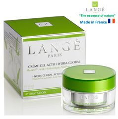 LANGE Paris luxury phyto-cosmetics HYDRA GLOBAL DAY CREAM HYDRATING and Moisturizes and soften skin