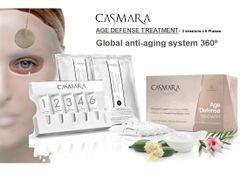 CASMARA AGE DEFENSE 360º GLOBAL ANTI-AGING 2X6 phases peel off mask treatments
