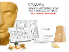 CASMARA REVITALISE-SKIN SENSATION 2x6 phases peel off mask treatments