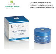 LANGE Paris luxury phyto-cosmetics INTENSIVE LIGHTENING DAY CREAM Lighten and moisturizing skin