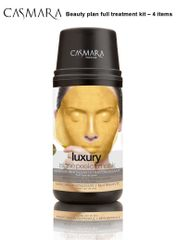 CASMARA beauty plan LUXURY treatment kit GOLD 24k REVITALISING,FIRMING peel off facial mask