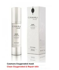 CASMARA facials OXYGENATING MASK Active oxygen mask Clean oxygenated and repair skin