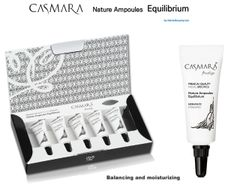CASMARA 5 EQUILIBRIUM-facial Ampoules REAFFIRMING,MOISTURISING-enhance peel off mask results