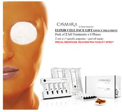 CASMARA ELIXIR CELL FACELIFT 2x6 phases peel off m,ask treatments