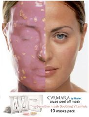 CASMARA masks 10 SENSITIVE,SOOTHING,VITAMINIC peel off masks