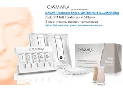 CASMARA NACAR LIGHTENING DNA Restoring 2x6 phases peel off mask treatments