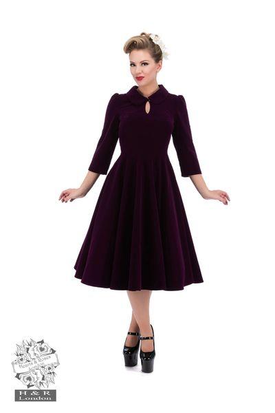bebf2d2e983 Glamorous Velvet Tea Dress by Hearts   Roses
