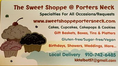 The Sweet Shoppe @ Porters Neck