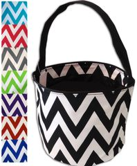 Chevron Easter Bucket Tote