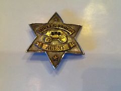Well Fargo Agent Badge - Hand Cast