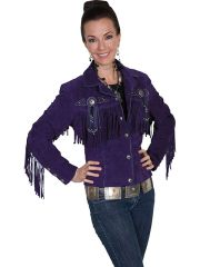 Scully Fringe & Beaded Jacket