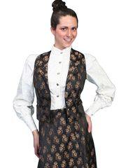 WahMaker Victorian Style Jacquard Vest