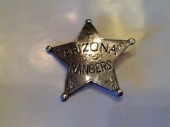 Arizona Rangers Badge - Hand Cast
