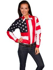 Patriot Stars & Stripes Blouse