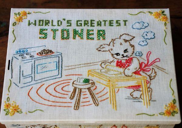 SOLD WORLD'S GREATEST STONER STASH BOX TIN