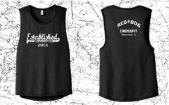 Ladies Cropped Top Tank - Choice of Logo