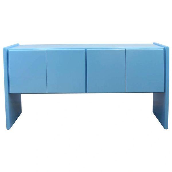 Milo Baughman Credenza Beautiful Blue Mid Century Modern Sideboard on modern daybed, modern recliner, modern commode, modern secretary, modern sideboard, modern entertainment center, modern tv, modern drawers, modern lamp, modern chaise lounge, modern desk, modern etagere, modern wall unit,