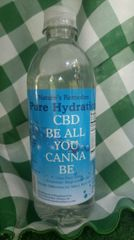 Natures Remedies CBD Nano Enhanced power water 16.9 oz