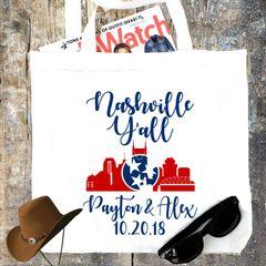 75 Nashville Party Totes