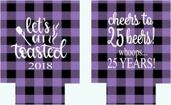 Buffalo Purple Plaid Party Huggers
